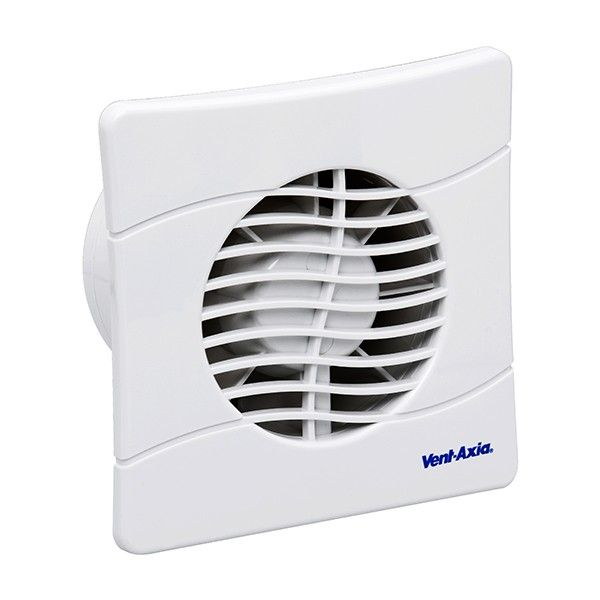 Vent Axia Bas100slt Extractor Fan With Backdraught