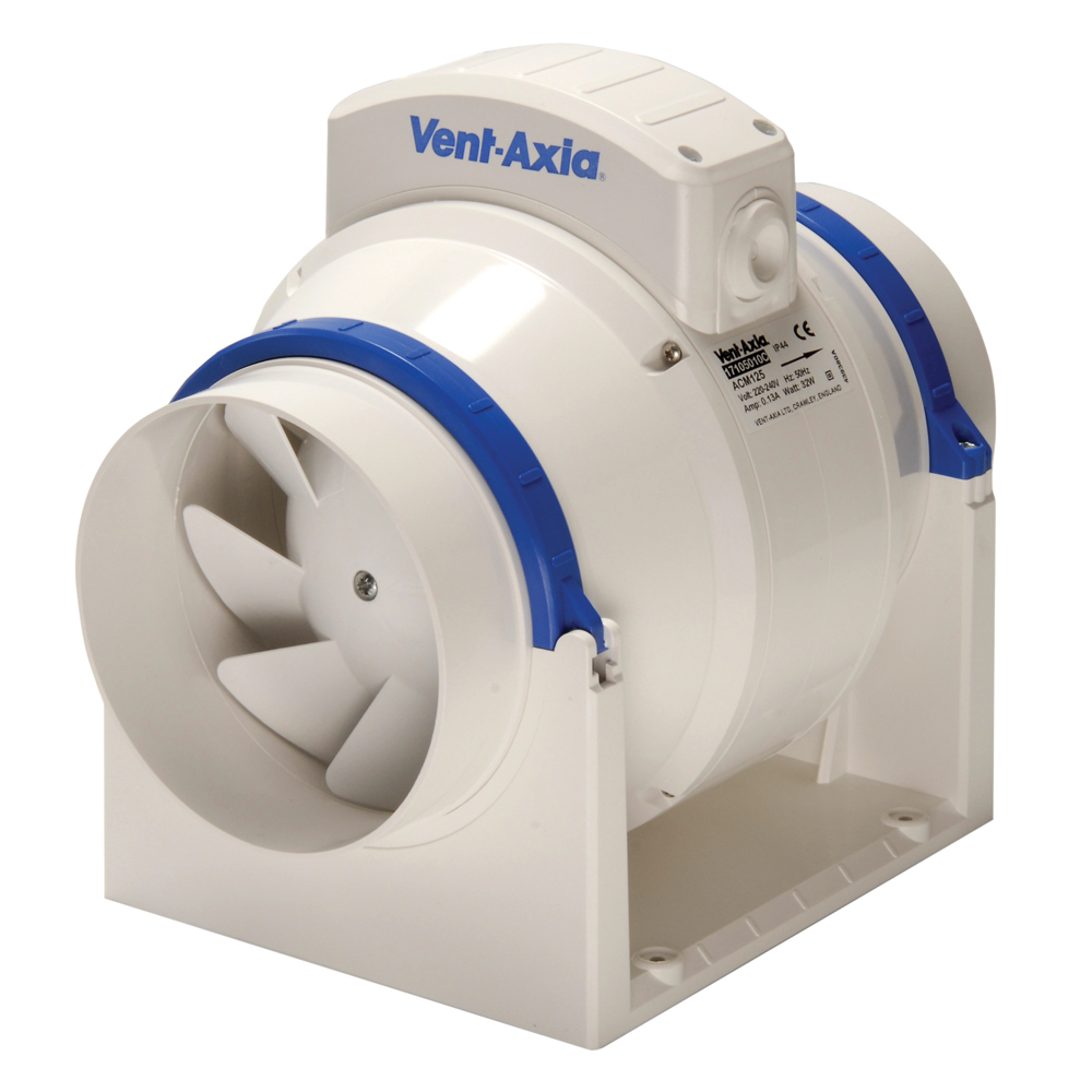 Mixed Flow Fan : Vent axia acm t in line mixed flow fan with a timer ebay