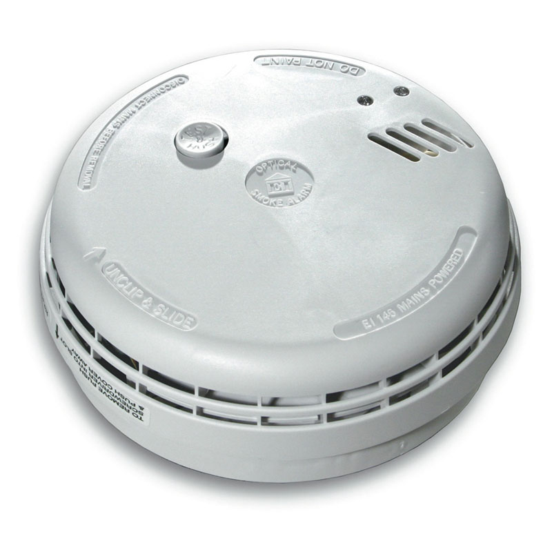 Aico Ei146 Optical Smoke Alarm - Mains Powered