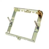 Deta G3402 Gridswitch 2 Module Mounting or Grid Frame for 2 Gang Front  Plate