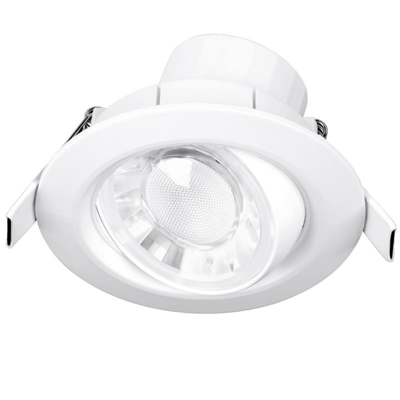 Enlite EN-DDL10260/30 240V 8W 60 Degree Adj. EnFiniti Dim Round LED Downlight 3000K