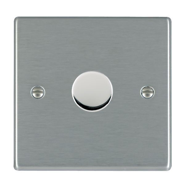 Hartland 741X40 Stainless Steel Dimmer 1G 2W 400w