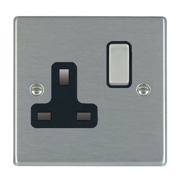 Hartland 74SS1SS-B and 74SS1SS-W Stainless Steel Single Socket