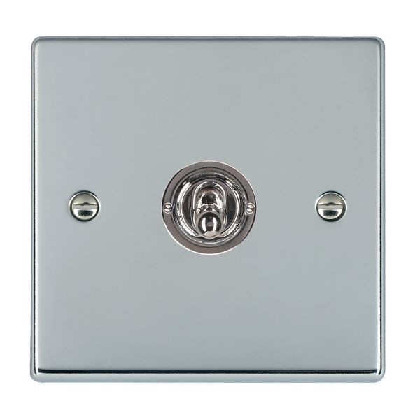 Hartland 77T21 Bright Chrome Toggle Switch 1G