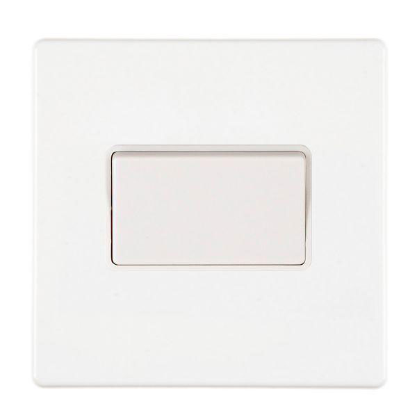 Hartland CFX 7WCTPWH-W White Fan Isolator Switch
