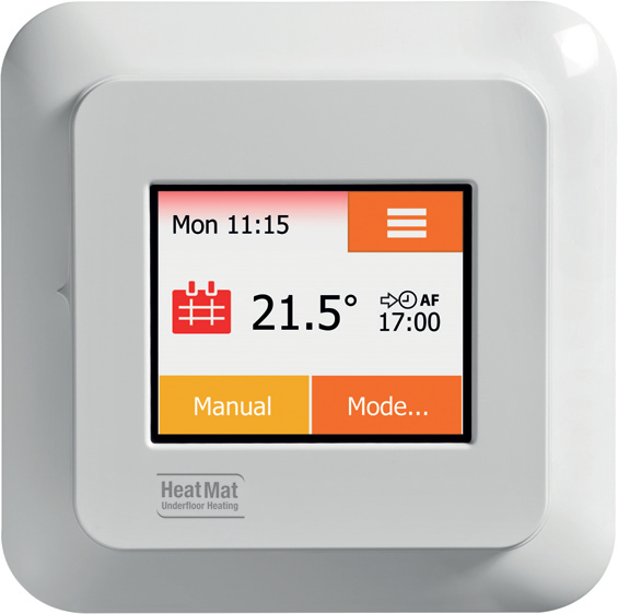 Heat Mat NGTouch Electronic Touchscreen Thermostat & Timer For Underfloor Heating - NGT-2.0-STND