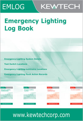 Kewtech EM1LOG Emergency Lighting Log Book
