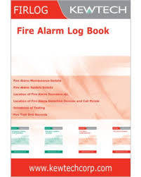 Kewtech FIR1 Fire Alarm Log Book