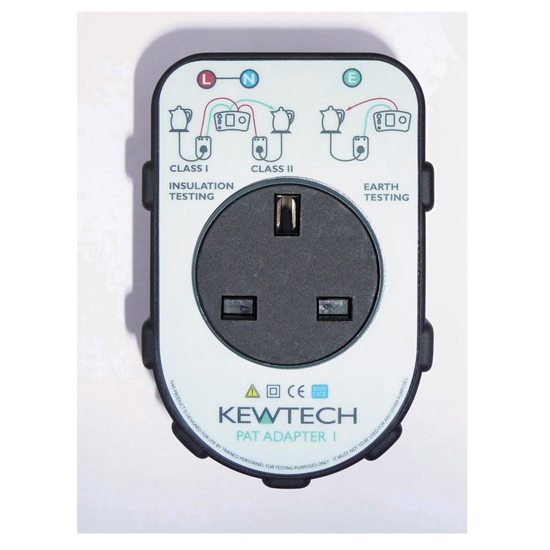 Kewtech PATADAPTOR1 Portable Appliance Adaptor