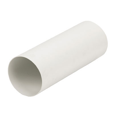 Manrose 42000 Round Pvc Pipe Ducting 100mm Diameter X 2m