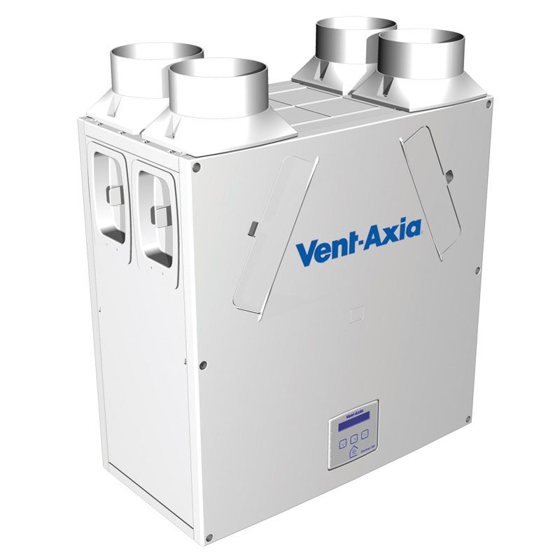 Vent Axia 443028 Sentinel Kinetic Plus B Heat Recovery Unit, Summer Bypass & Integral Humidistat