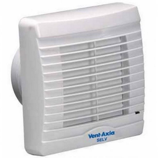 Vent Axia VA100SVX12 Axial IPX7 Extractor Fan W/ Shutters, Light & Remote Transformer