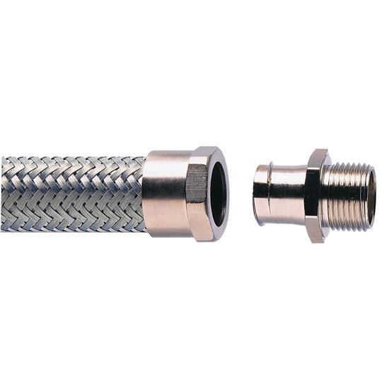 ADAPTAFLEX NICKLE PLATED BRASS STRAIGHT FITTINGS (TYPE A, B, M )