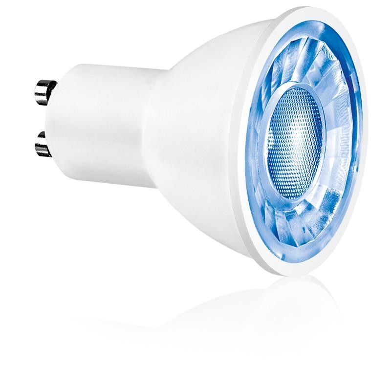 Aurora Enlite ICE EN-GU003 3W Non-Dimmable LED GU10 Lamp Available in Blue and Green