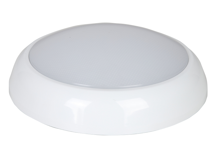 Bell Lighting 06639 14W ECO AQUA2 LED Bulkhead - Emergency, Sensor On/Off, 3500K