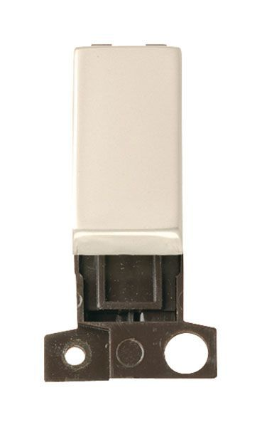 Click Mini Grid MD004PN 2 Way Retractive Ingot 10A Switch - Pearl Nickel