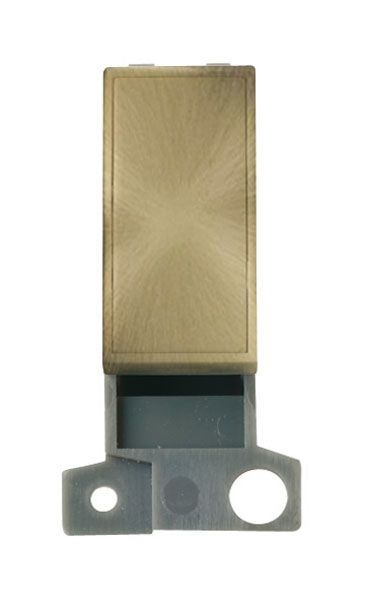 Click Mini Grid MD008AB Blank Ingot Module - Antique Brass
