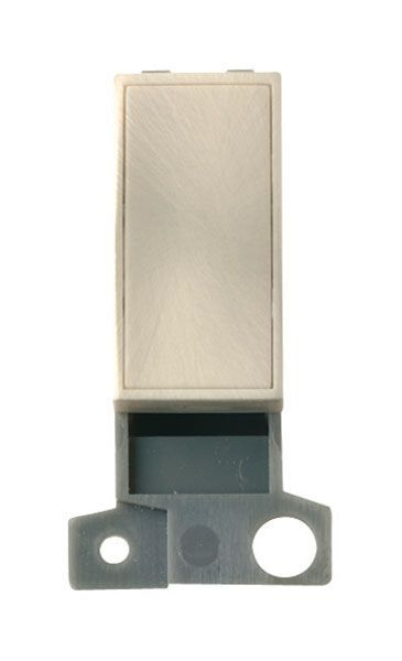 Click Mini Grid MD008SC Blank Ingot Module - Satin Chrome