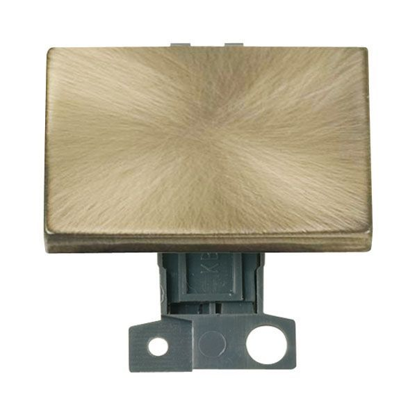 Click Mini Grid MD009AB 2 Way Ingot 10AX Paddle Switch - Antique Brass