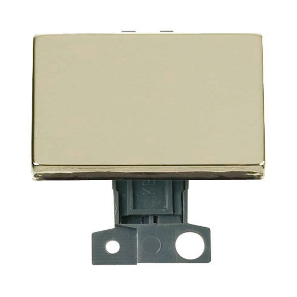 Click Mini Grid MD009BR 2 Way Ingot 10AX Paddle Switch - Brass