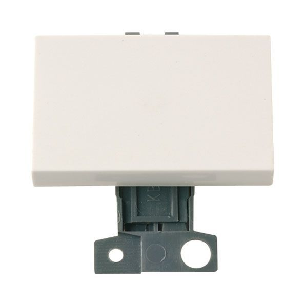 Click Mini Grid MD009PW 2 Way 10AX Paddle Switch - Polar White