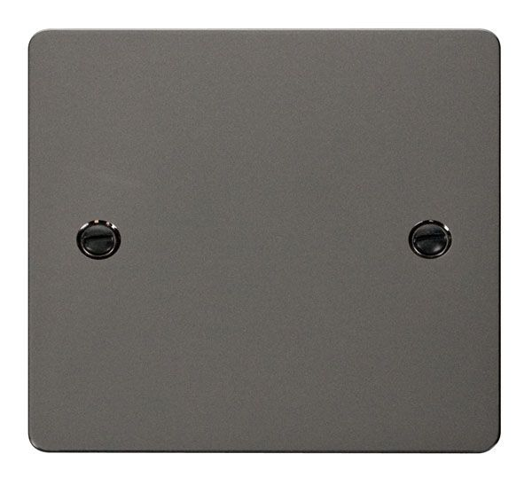 Click Scolmore FPBN060 1 Gang Blank Plate