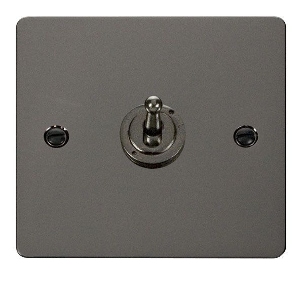 Click Scolmore FPBN421 10AX 1 Gang 2 Way Toggle Switch