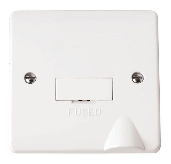 Click Scolmore MODE CMA049 3A Fused Connection Unit with Flex Outlet