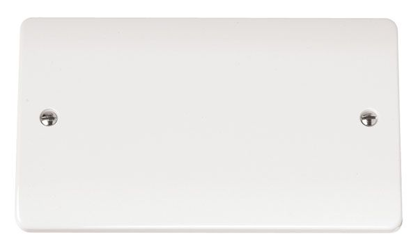 Click Scolmore MODE CMA061 2 Gang Blank Plate