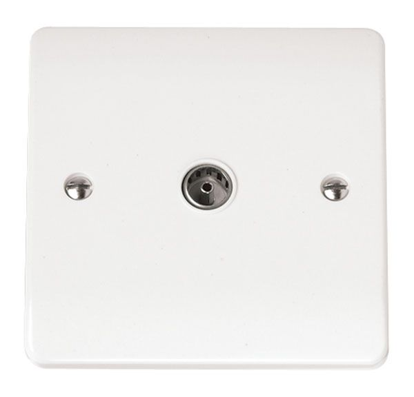 Click Scolmore MODE CMA065 Single Coaxial Socket Outlet