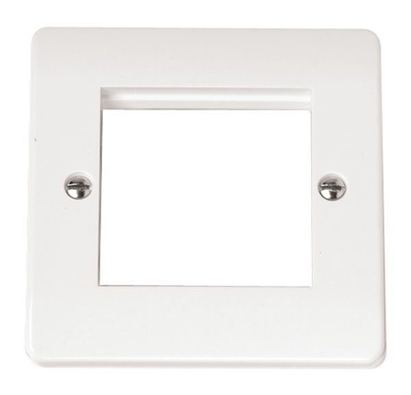Click Scolmore MODE CMA311 Single Plate (Twin Media Module Aperture)