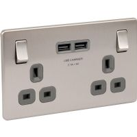 Decorative Screwless Flush Sockets & Switches