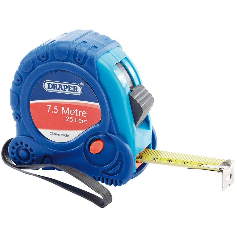 Draper Tools 7.5M Measuring Tape 75300