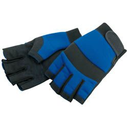 Draper Tools Large Fingerless Gloves 14972