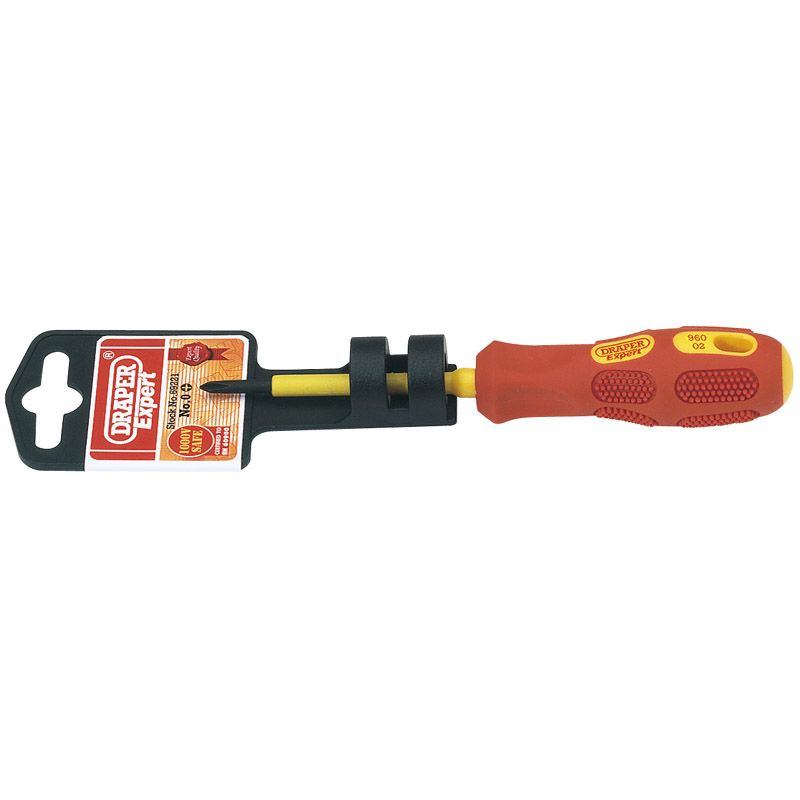 Draper Tools No.0 x 60mm Fully Insulated Cross Slot Screwdriver 69221