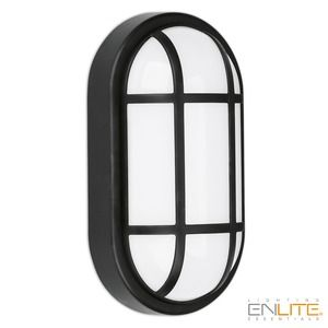 Enlite EN-BZG215BLK 215x115mm Grill Bezel Black for EN-BH215