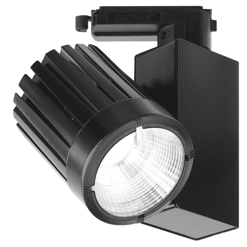 Enlite EN-TK31343CBBLK/30 30W 3000lm 33deg Non-Dimmable 3-Circuit Track Spotlight Black 3000K