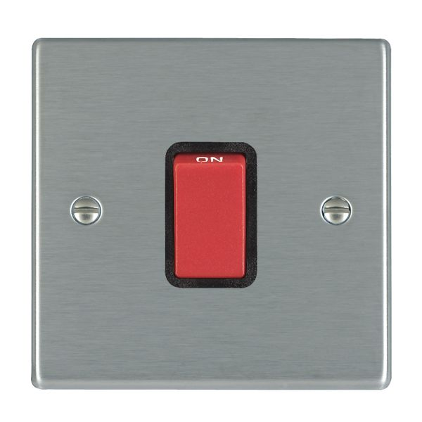 Hartland 7445-B and 7445-W Stainless Steel 45a DP Switch