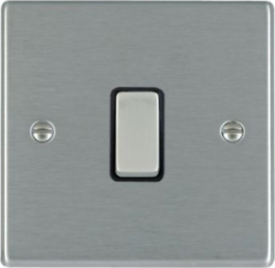 Hartland 74DPSS-B and 74DPSS-W Stainless Steel 20a DP Switch