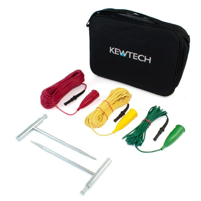 Kewtech ACCESKIT Earth Spike & Lead Kit For KT65