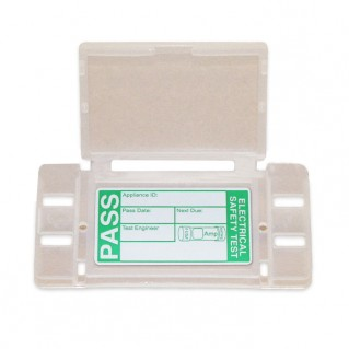 Kewtech KEWSNAP1 Snap Tags with Clips and PASS Labels Pack of 50