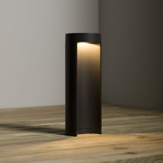 KSR Lighting KSR1905 Calanda 8.5w 3000K LED 250mm Bollard Anthracite