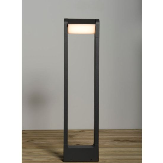 KSR Lighting KSR1910 Flix 8.5w 3000K LED Adjustable 650mm Bollard Anthracite