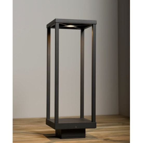 KSR Lighting KSR1912 Quinto 13w 3000K LED 500mm Bollard Anthracite