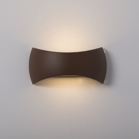 KSR Lighting KSR4121 Meridian 2.1 15w 3000K LED Wall Light Bronze