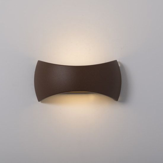 KSR Lighting KSR4123 Meridian 2.1 15w 4000K LED Wall Light Bronze