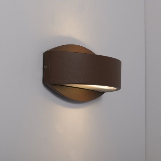 KSR Lighting KSR4127 Meridian 2.2 15w 4000K LED Wall Light Bronze