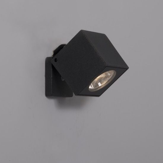 KSR Lighting KSR4131 Kubo 6w 4000K LED Spotlight Anthracite