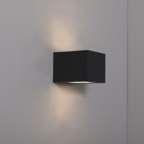 KSR Lighting KSR4141 Ronda 8.5w 4000K LED Wall Light Anthracite