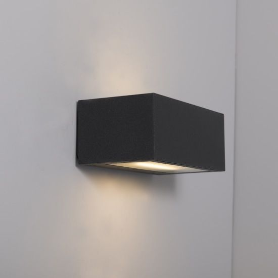 KSR Lighting KSR4143 Ronda 18w 4000K LED Wall Light Anthracite